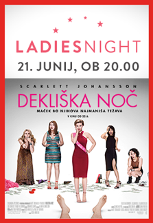 Ladies night: Dekliška noč