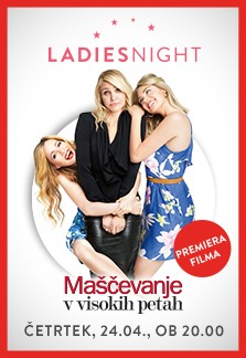Ladies Night v znamenju premiere in visokih pet