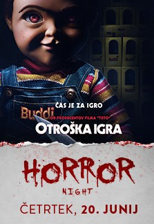 Horror night Otroška igra