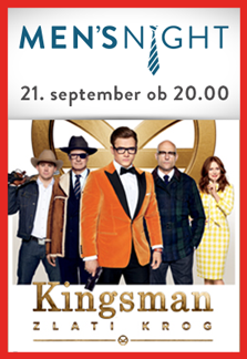 Men's night Kingsman: Zlati krog