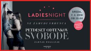 Ladies night: 50 odtenkov svobode