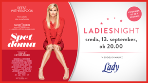 Ladies night: Spet doma