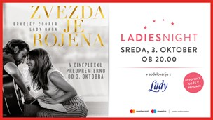 Ladies night: Zvezda je rojena