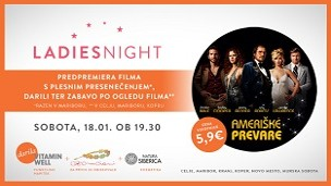 Ladies night v slogu 70. let!