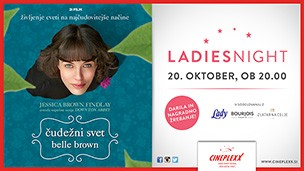 Ladies night: Čudežni svet Belle Brown