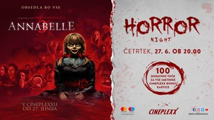 Horror night Annabelle 3